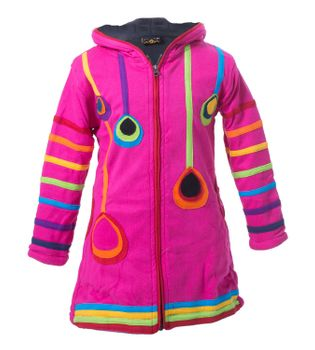 Kunst & Magie Kids Gnome Jacket with elfin hood Goa Psy – Bild 11