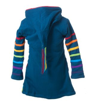 Kunst & Magie Kids Gnome Jacket with elfin hood Goa Psy – Bild 6