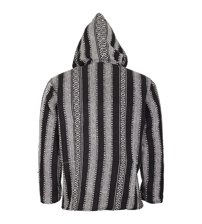Kunst und Magie Nepal Baja Jerga Sweatshirt Poncho with fleece lining hood  – Bild bd401a2e6e