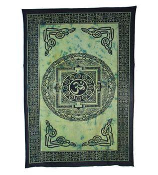 Wandbehang  Dekotuch Indien OM Symbol  ca 205 cm x 140 cm – Bild 4