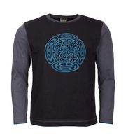 Unique Men's Hoodie with Tibetan OM-Symbol 001