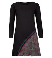 Kunst und Magie Tunic with prints and embroidery