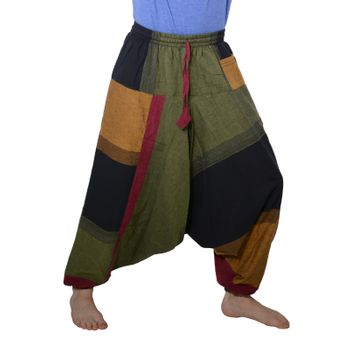 Kunst und Magie Oriental Aladin pants Afghani Trousers Shalwar Harem pants – Bild 7