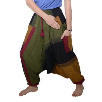 Kunst und Magie Oriental Aladin pants Afghani Trousers Shalwar Harem pants – Bild 8