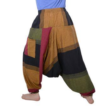 Kunst und Magie Oriental Aladin pants Afghani Trousers Shalwar Harem pants – Bild 9