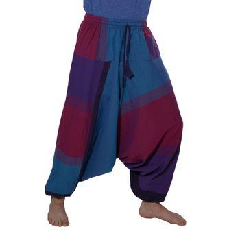 Kunst und Magie Oriental Aladin pants Afghani Trousers Shalwar Harem pants – Bild 3