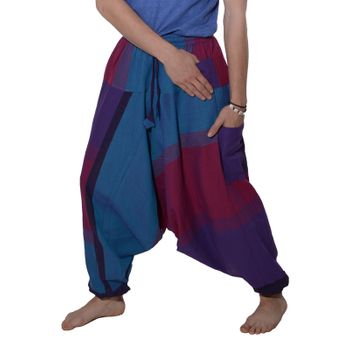 Kunst und Magie Oriental Aladin pants Afghani Trousers Shalwar Harem pants – Bild 4