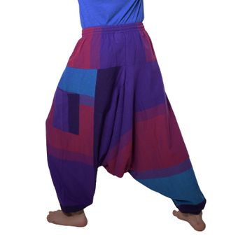 Kunst und Magie Oriental Aladin pants Afghani Trousers Shalwar Harem pants – Bild 5