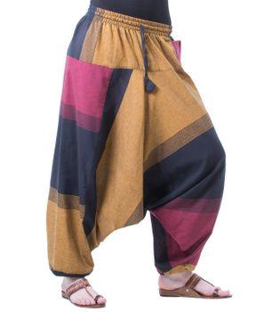 Kunst und Magie Oriental Aladin pants Afghani Trousers Shalwar Harem pants – Bild 2