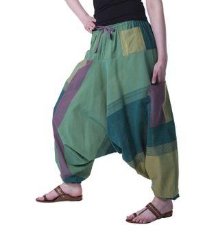 Kunst und Magie Oriental Aladin pants Afghani Trousers Shalwar Harem pants – Bild 10