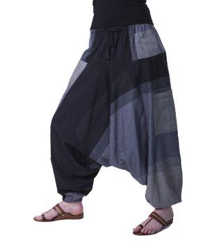 Kunst und Magie Oriental Aladin pants Afghani Trousers Shalwar Harem pants – Bild 6