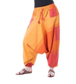Kunst und Magie Oriental Aladin pants Afghani Trousers Shalwar Harem pants – Bild 11