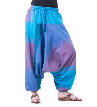 Kunst und Magie Oriental Aladin pants Afghani Trousers Shalwar Harem pants – Bild 12
