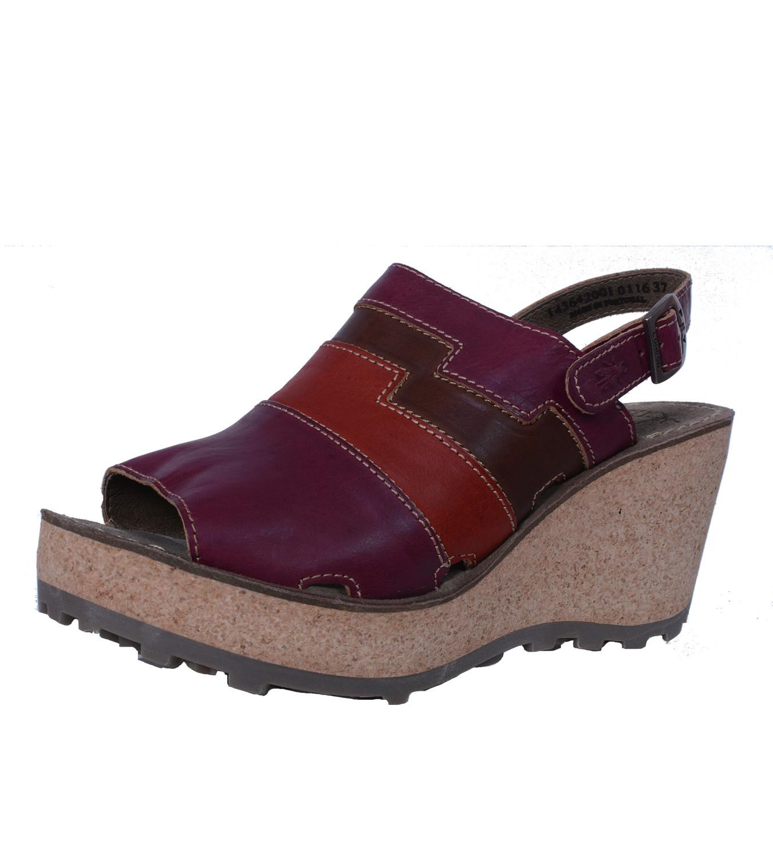 fly london sebta ladies sandals with wedge heel and platform soles ebay. Black Bedroom Furniture Sets. Home Design Ideas