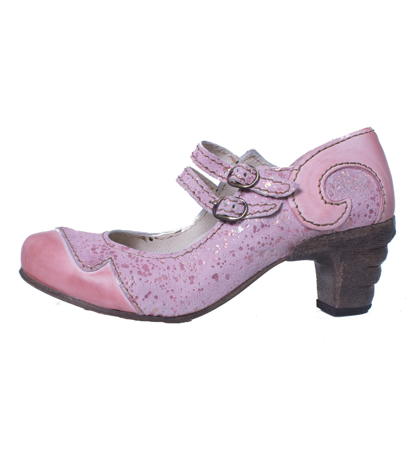 094e5d7f30a25 Rovers 51001 Crust Costa Viola Märchenhafte Sommer Pumps in Pink