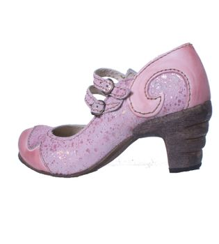 Rovers 51001 Crust Costa Viola Märchenhafte Sommer Pumps in Pink – Bild 4