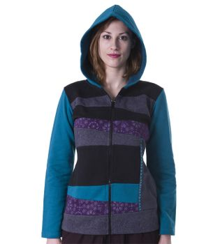 Cotton Hoodie with Fleece Lining – Bild 1