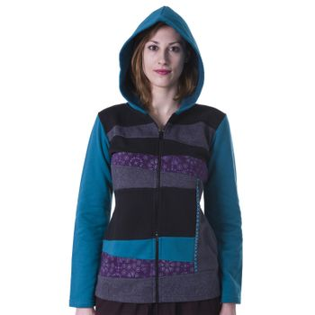 Cotton Hoodie with Fleece Lining – Bild 12
