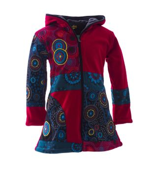 Funny Gnome Jacket with Hood in Blue and Rainbow Colors – Bild 11