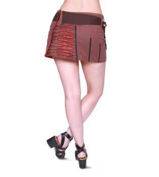 Beautiful Summer Wrap Skirt with Pocket Miniskirt Hippie Goa Skirt – Bild 18