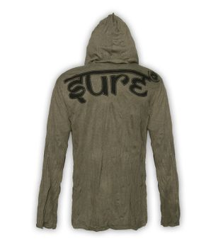 Kunst & Magie Sure Hoody Elephant Ganesha in hippie look – Bild 11