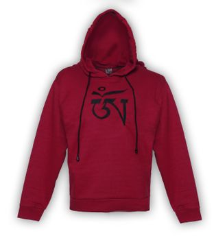 Unique Men's Hoodie with Tibetan OM-Symbol – Bild 4