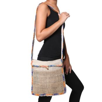 "Shoulder Bag ""Nepal Spiral"" – Bild 1"