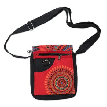Alternative Women's Purse with Flower Pattern – Bild 16