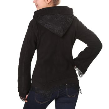 Women's Hippie Fleece Jacket with Hood – Bild 6