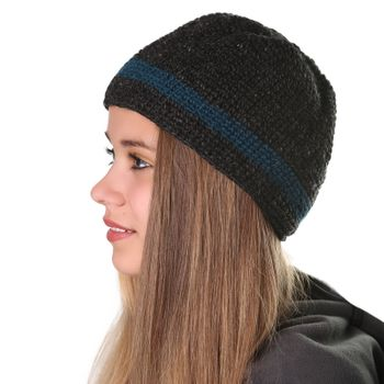 "Fancy Women's Hat ""Fall"" made from Fleece – Bild 4"