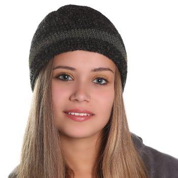 Kunst und Magie Unisex Mütze Stickmütze aus Wolle mit Fleecefutter – Bild 5
