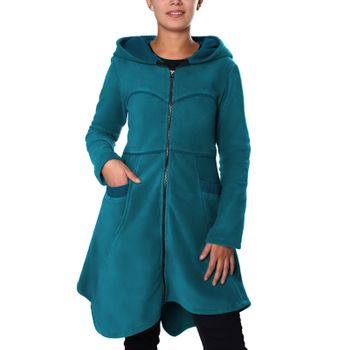 Soft fleece jacket with detachable zip hood – Bild 19
