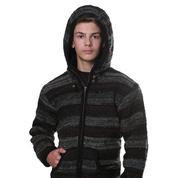 Kunst und Magie cardigan with fleece lining for men – Bild 2