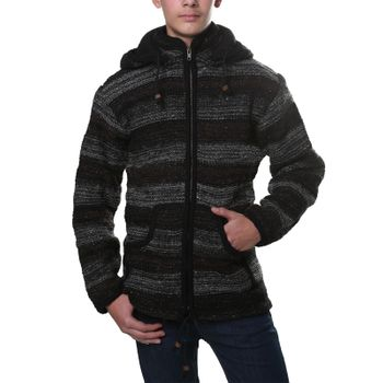 Kunst und Magie cardigan with fleece lining for men – Bild 1