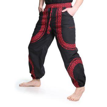 Kunst und Magie Psy Goa Freizeit Hose aus Baumwolle Unisex Für Sie und Ihn – Bild 4