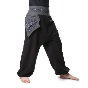 Harem Pants with Side Pocket Psy Goa Harem Pants  – Bild 4