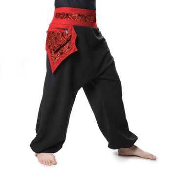 Harem Pants with Side Pocket Psy Goa Harem Pants  – Bild 6