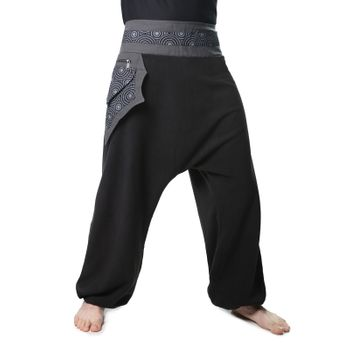 Harem Pants with Side Pocket Psy Goa Harem Pants  – Bild 3