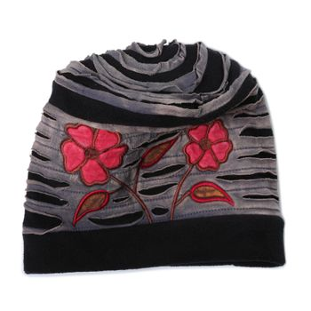 "Fancy Women's Hat ""Fall"" made from Fleece – Bild 1"