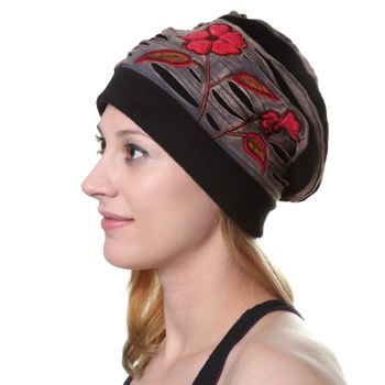 "Fancy Women's Hat ""Fall"" made from Fleece – Bild 3"