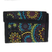 Beautiful Shoulder Bag with Embroidered Mandalas Goa Psy 001