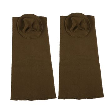 Kunst und Magie Damen Armstulpen aus Fleece Stulpen Handwärmer Handschuhe Boho – Bild 4