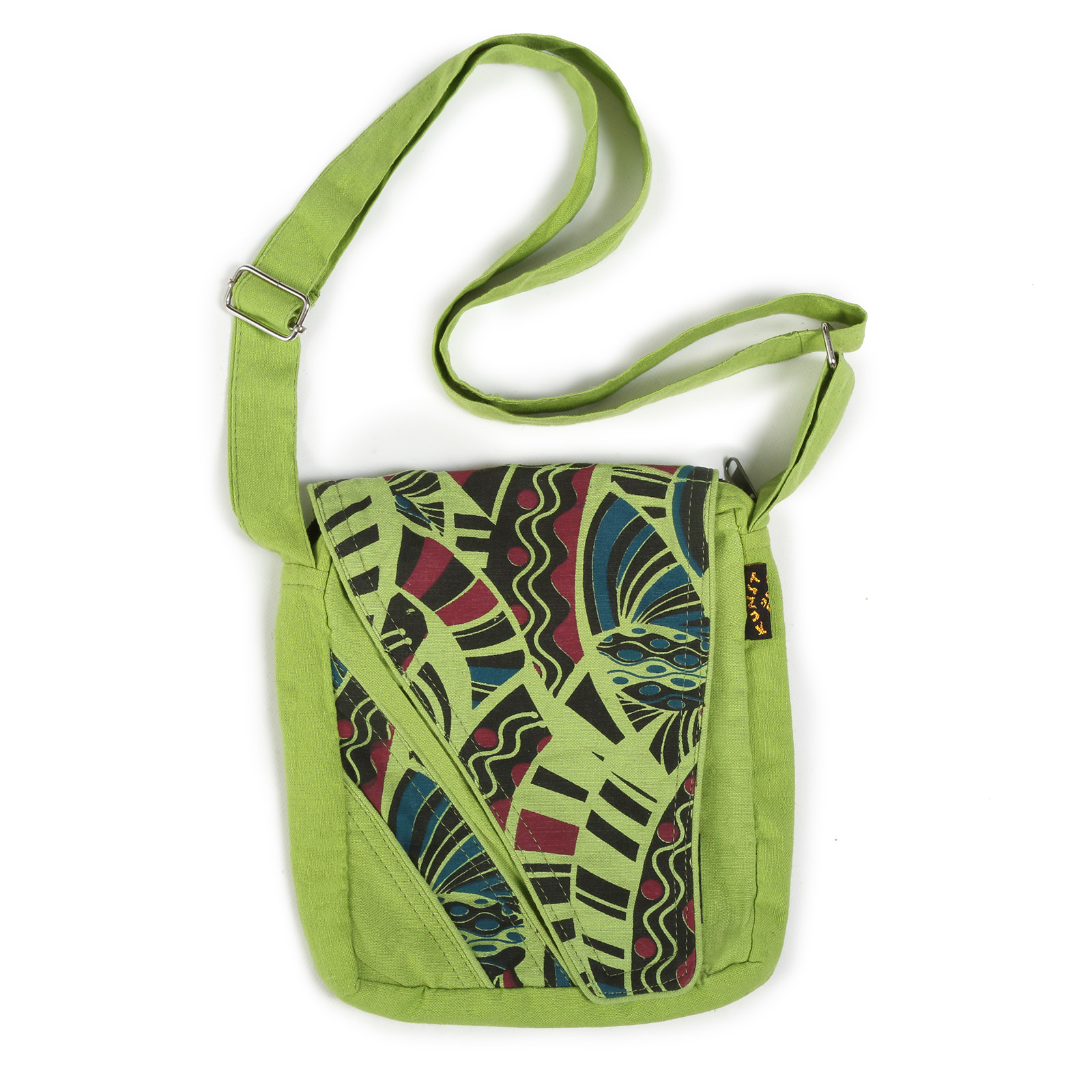 Alternative Damenhandtasche / Schultertasche Goa Psy 70er Retro Design