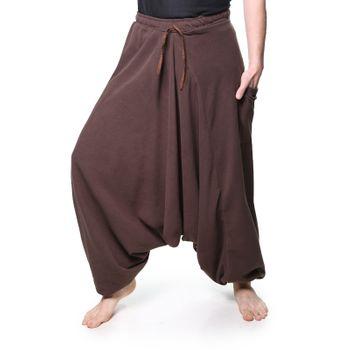 Kunst und Magie Unisex Fleece Pants Psy Goa Harem Aladdin – Bild 3