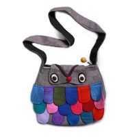 Women's Handbag  / Shoulder Bag (Wool) 001