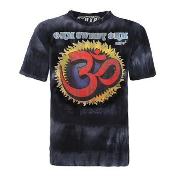 Sure Men's 70s Retro T-Shirt OM in the Batiklook – Bild 1