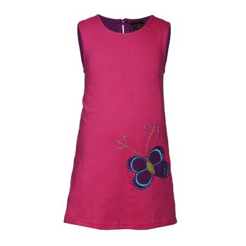 Kunst und Magie Colory tunic summery children's dress with butterfly embroidery – Bild 1