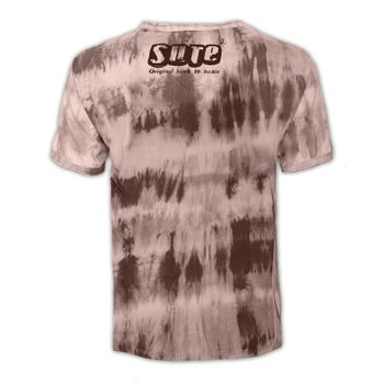 "Kunst und Magie Sure Men Colorful 70s Retro Hippie T-Shirt ""OM""in batik – Bild 5"