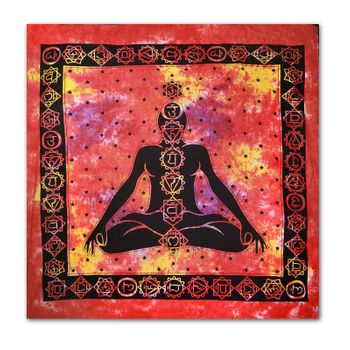 "Wallhanging with motif ""Chakra Buddha Meditation"" – Bild 1"