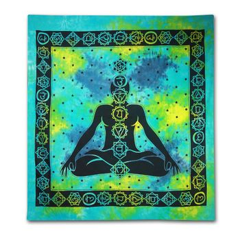 "Wallhanging with motif ""Chakra Buddha Meditation"" – Bild 2"